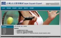 網站設計-台北壁球專家