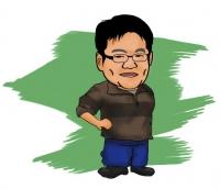 Q版造型插畫-陳先生
